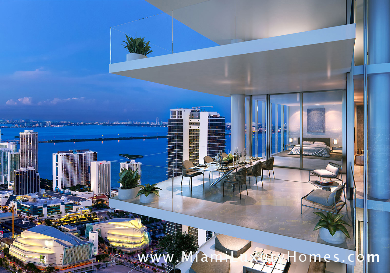 Paramount Miami Worldcenter Condos Downtown Miami Condos