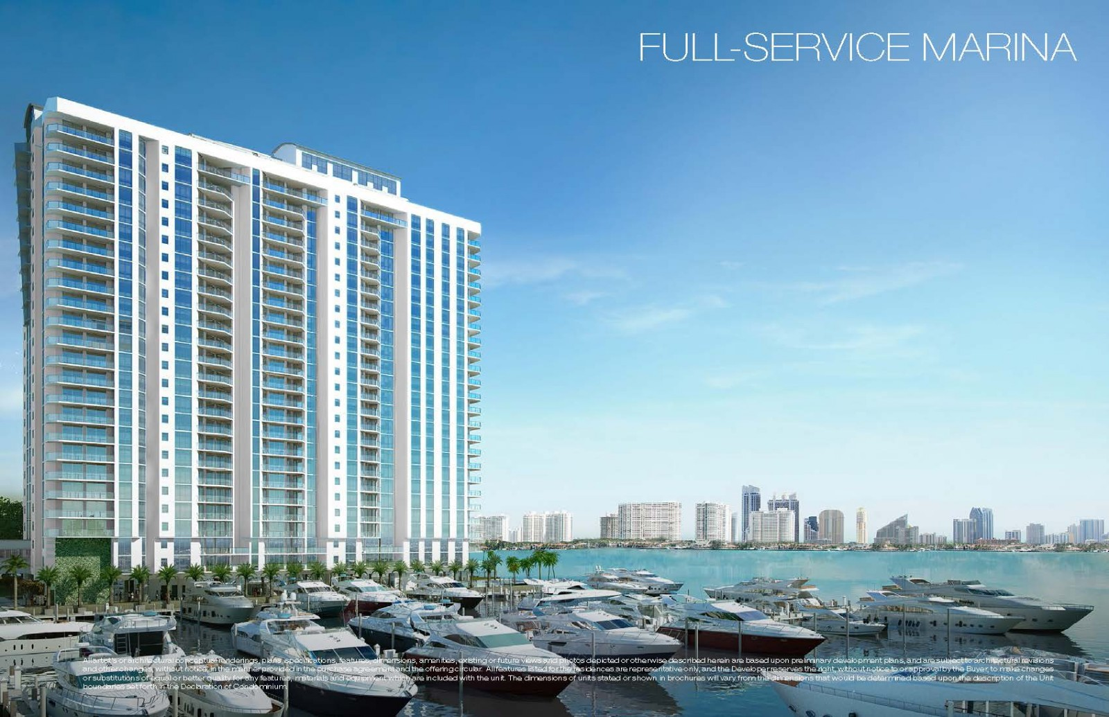 Marina Palms Yacht Club Residences